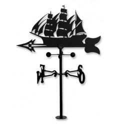 Girouette de vent le Navire