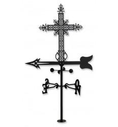 Windfahne Kreuz