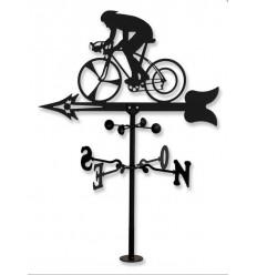 Cycliste girouette