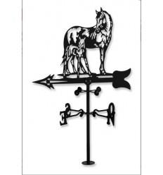 Weathervane Horses