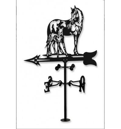 Girouette chevaux