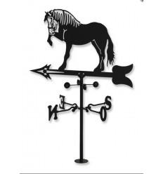 Pferd Wetterfahne