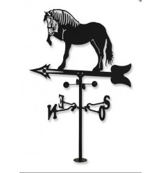 Weathervane do cavalo