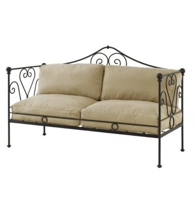 sofa de forja granada