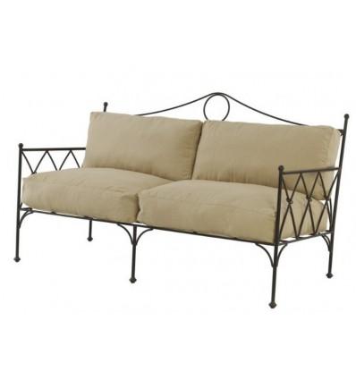 sofa de forja gotico