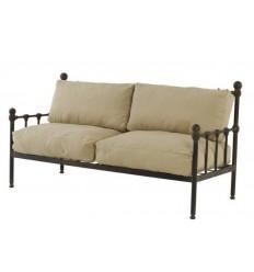 sofa de forja antix