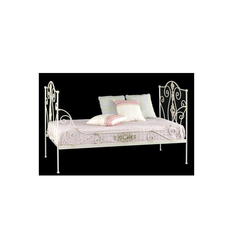 Sof cama de forja princesa - Sofas de forja ...