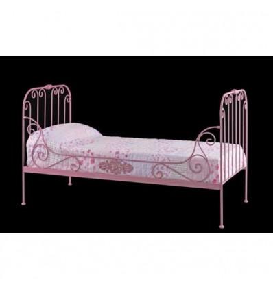 sofa cama de forja paris sencillo