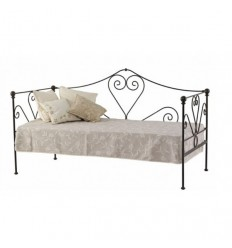 Sofá-cama de ferro forjado Granada