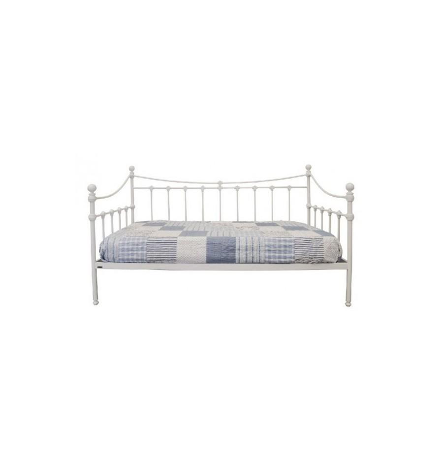 sof cama de forja alfil