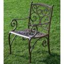 Sessel aus Aluminium Tripoli