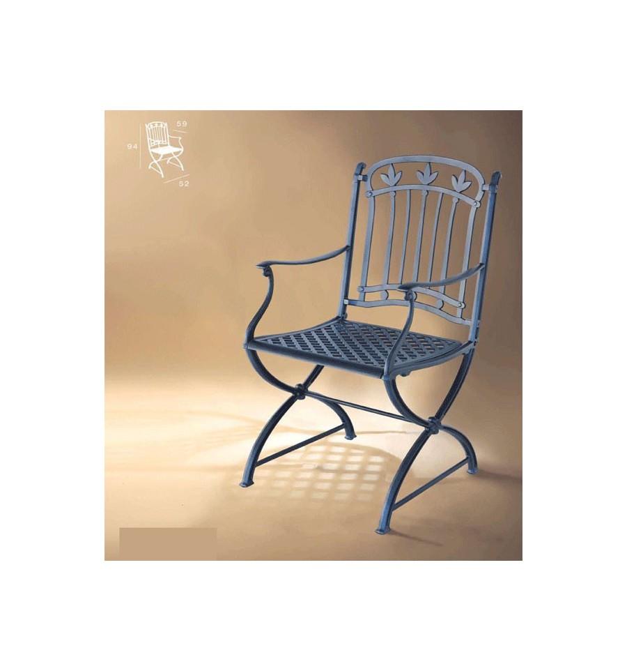 Sill n de aluminio m laga for Muebles de jardin malaga