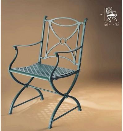 sillon de aluminio jamuga