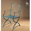 Sessel aus Aluminium Jamuga