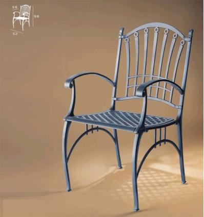 sillon de aluminio genova