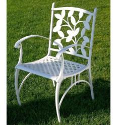 sillon de aluminio ebano