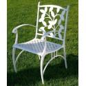 Sessel aus Aluminium Ébano
