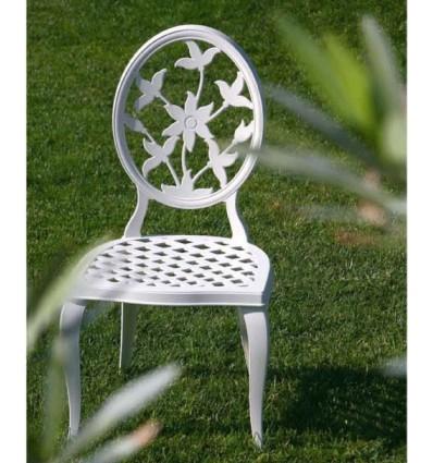 silla de aluminio versalles