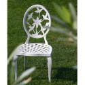 Chaise en aluminium Versalles