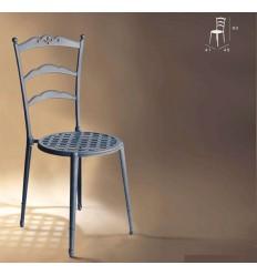 silla de aluminio triana