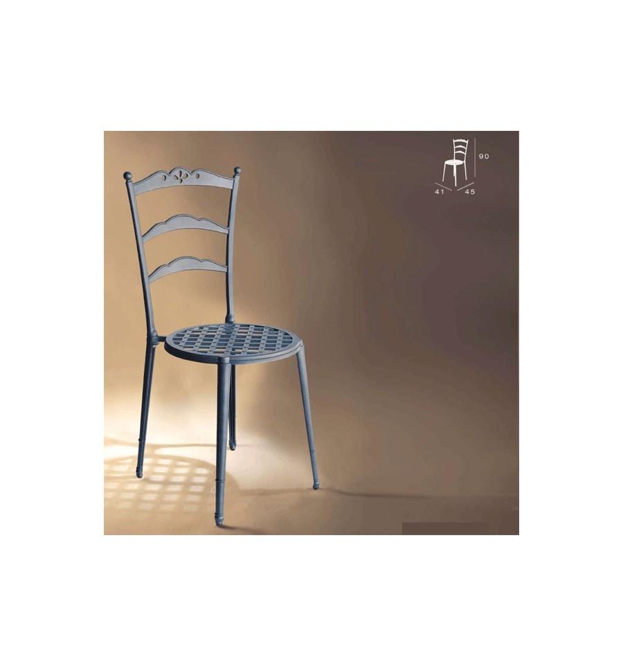 Silla de aluminio triana for Fabrica de muebles de jardin de aluminio