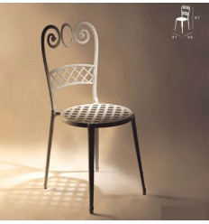 silla de aluminio sena