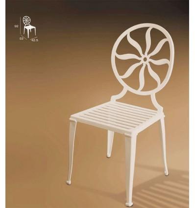 silla de aluminio marsella