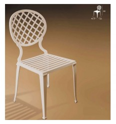 Chaise en aluminium Madrid