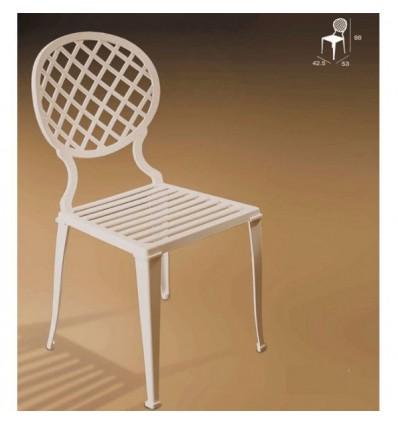 silla de aluminio madrid