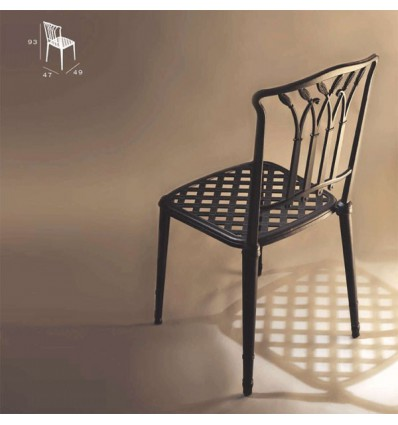silla de aluminio jerez