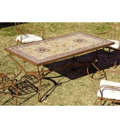 mesa de jardin marbella