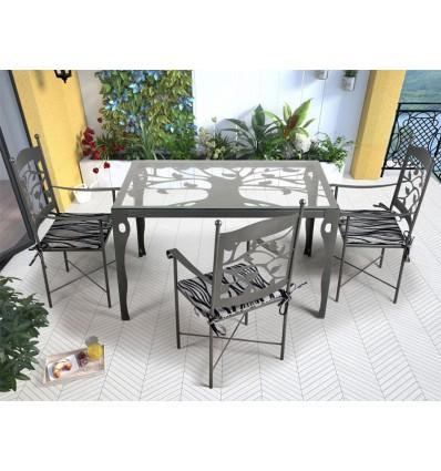 mesa de jardin mairena