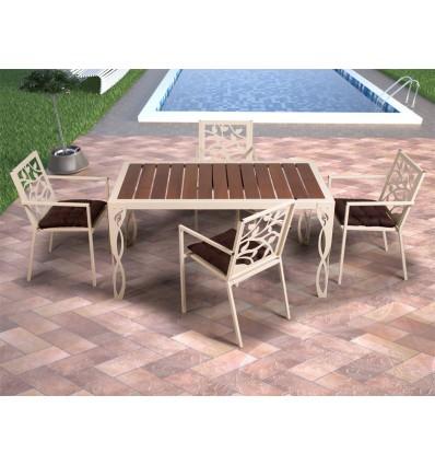 mesa de jardin cadiz