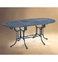 Table en aluminium Teide-Marbella 180
