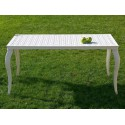 Table en aluminium Kenia