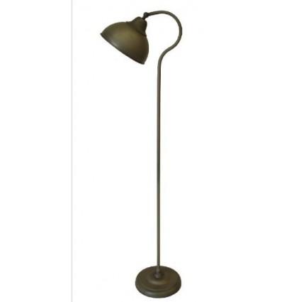 lampara de pie de forja retro