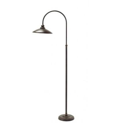 lampara de pie de forja manhatan
