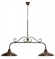 Lampada in ferro battuto Rústica