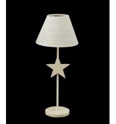 lampara de forja estrella