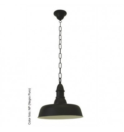 lampara de forja colgante neus