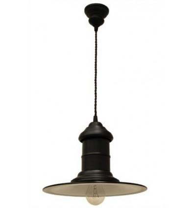 lampara de forja colgante francesa