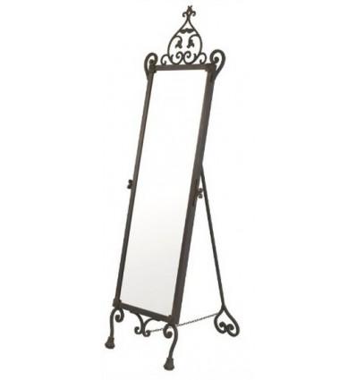 espejo vestidor de forja