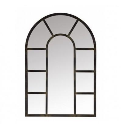 Espejo de forja vitral