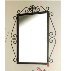Specchio in ferro battuto Venus