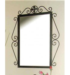 Spiegel aus Schmiedeeisen Venus