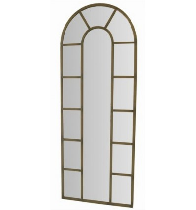 Spiegel aus Schmiedeeisen Ventanal