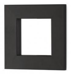 Specchio in ferro battuto cuadrado Line