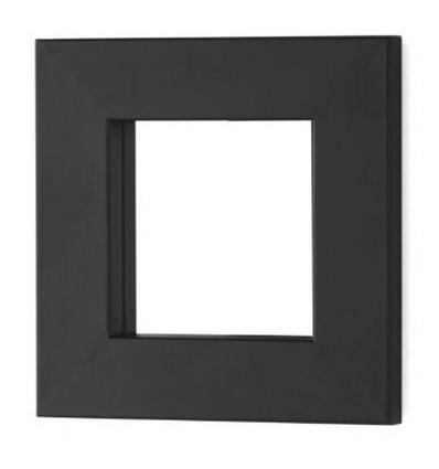 Spiegel aus Schmiedeeisen cuadrado Line