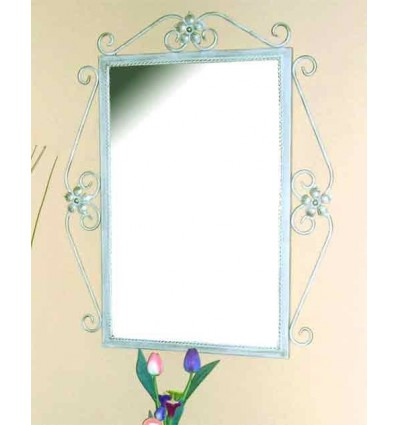 Specchio in ferro battuto Ainhoa