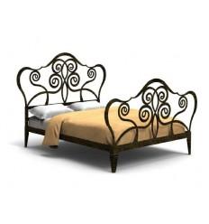 cama de forja napoles